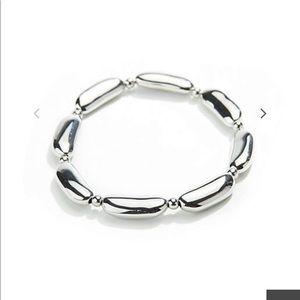 J.jill sculpted bar bracelet
